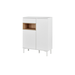 Roomers Highboard  Case ¦ weiß