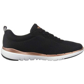 SKECHERS Flex Appeal 3.0 - First Insight black-rosegold/ white, 39