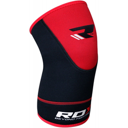 RDX Neoprene Kniebandage (Größe: L / XL, Farbe: Rot)