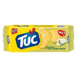 Tuc Sour Cream Onion Salzgebäck Sauerrahm Zwiebel Geschmack 100g