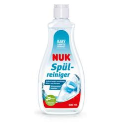 NUK Spülmittel für eine babygerechte Reinigung, Sanft reinigendes Geschirrspülmittel zum reinigen von Flaschen und Saugern, 500 ml - Flasche