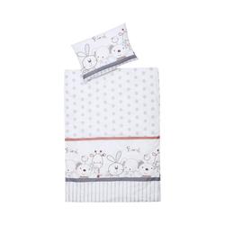 Bettwäsche Kinderbettwäsche Mimi, Baumwolle, weiß, 100 x 135, Schardt