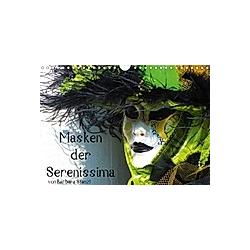 Masken der Serenissima (Wandkalender 2021 DIN A4 quer)