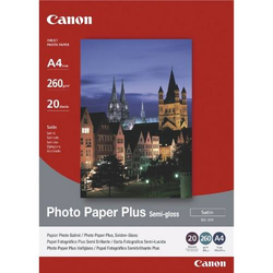 Photopapier Plus SG-201 A4 semigloss VE=20 Blatt