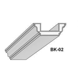 BK-02 Deckenbalken aus Styropor Balkenverkleidung Verkleidung Kassettendecken Balken 300cm