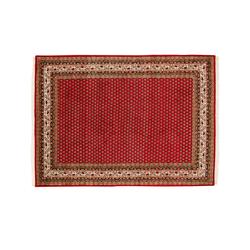 Handgeknüpfter Teppich  Sakki Mir ¦ rot ¦ Wolle