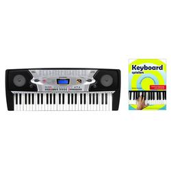 McGrey BK-5420 Keyboard mit 54 Tasten, Keyboardschule, Mikrofon und Notenhalter