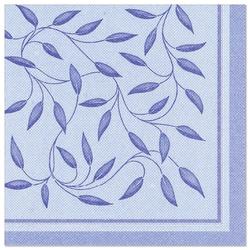 """Servietten """"ROYAL Collection"""" 1/4-Falz 40 cm x 40 cm dunkelblau """"New Mediterran"""", Papstar (16902), 160 Stück"""