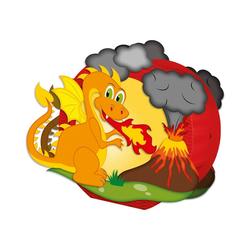 URSUS Laterne Laternen-Bastelset Feuerdrache