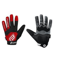 FORCE Fahrradhandschuhe FORCE Fahrrad Finger Handschuhe AUTONOMY rot XL
