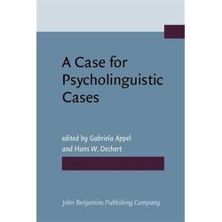 Case for Psycholinguistic Cases: eBook von