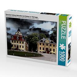 Barockes Schloss Belvedere bei Weimar in Thüringen Lege-Größe 64 x 48 cm Foto-Puzzle Bild von Flori0 Puzzle