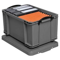 Really Useful Box Aufbewahrungsbox 48,0 l silber 60,0 x 40,0 x 31,5 cm