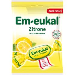 EM EUKAL Bonbons Zitrone zuckerfrei 75 g