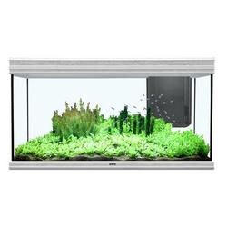 Aquatlantis Fusion 120x50cm Aquarium, 120x50x70cm, 420L/330L, grau