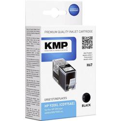 KMP KMP Tintenpatrone H67 Schwarz 1717,0051 Tintenpatrone