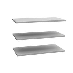 Forte Einlegeböden 3er-Set für Schwebetürenschrank Starlet Plus Breite 170 cm