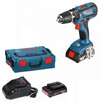 Bosch GSB 18-2-LI Plus Professional inkl. 2 x 2,0 Ah + L-Boxx 06019E7100