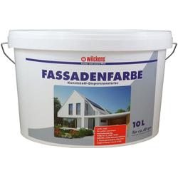 Wilckens Farben Farbeimer, Fassadenfarbe Weiß Wandfarbe Außenfarbe Innenfarbe hochdeckend