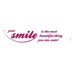 Komar Decosticker Your smile 14 x 70 cm
