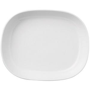 Thomas Porzellan Servierplatte Trend Weiß Platte 30 cm tief, Porzellan, (1-tlg)