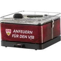 Feuerdesign Teide Holzkohle-Tischgrill VfB Stuttgart