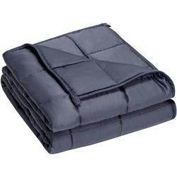 Gewichtsdecke, Schwere Decke Anti Stress Beschwerte Decke Gewichtete Decke Weighted Blanket, COSTWAY 104 cm x 152 cm