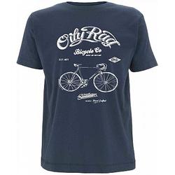 Oily Rag Clothing Bicycle Club T-Shirt Herren - Blau - S