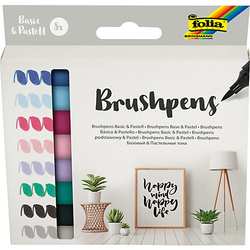 Brushpens, 8er Set