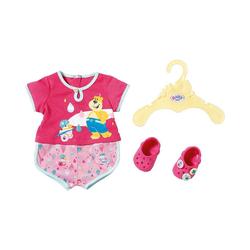 Zapf Creation® Puppenkleidung BABY born® Pyjama und Clogs 43cm, Puppenkleidung