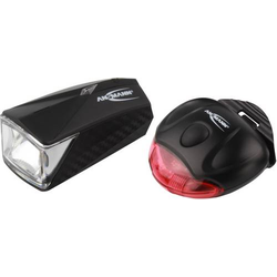 Ansmann Fahrradbeleuchtung Set LiteRider