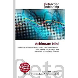 Achinoam Nini - Buch