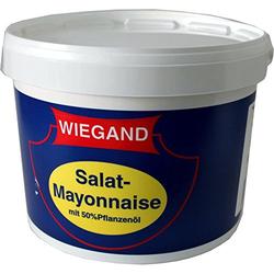 Wiegand Salat-Mayonnaise mit 50% Pflanzenöl 8L