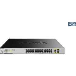D-Link 26-Port Layer2 PoE+ Gigabit Switch Netzwerk Switch 26 Port