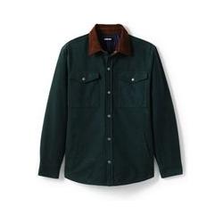 Moleskin-Hemdjacke - L - Grün