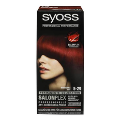 3 x Syoss Haarfarbe Salonplex 5-29 Intensives Rot 115ml