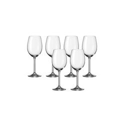 LEONARDO Rotweinglas Rotweinglas 6er-Set Daily, Glas