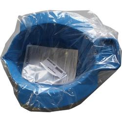 Bidetbecken Kunststoff Blau