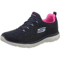 SKECHERS Summits Slip-On Sneaker mit Memory Foam blau 35