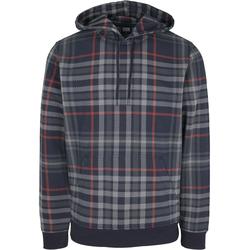 Urban Classics Herren Sweatshirt grau / rot / marine