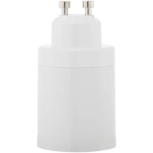 starnearby Lampenfassung Adapter Konverter GU10 Buchse auf E27 Lampenfassung Adapter, Lampenfassung für LED oder Energiesparlampe, aus hochtemperaturbeständigem ABS-Material(1 Stück)