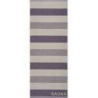 Egeria Saunatuch Bob (1-St), im Streifendesign