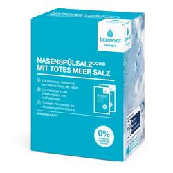 DermaSel® Therapie NasenspülsalzLiquid mit Totes Meer Salz 20 St