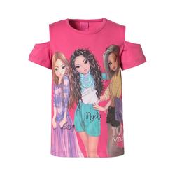 TOPModel T-Shirt TOPModel T-Shirt mit Cut-Outs für Mädchen 116/122