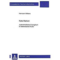 Kata Markon. Hermann Wilkens  - Buch