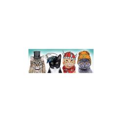 Trefl Puzzle Panorama Puzzle 500 Teile - Fluffy Team, Puzzleteile