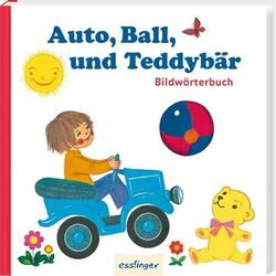 Auto Ball und Teddybär als Buch von