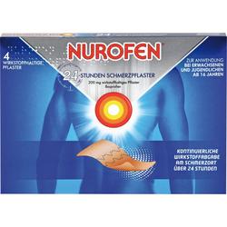 NUROFEN 24-Stunden Schmerzpflaster 200 mg 4 St.