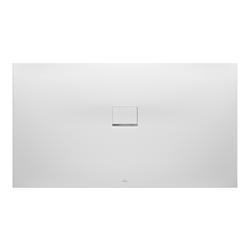 Villeroy & Boch Squaro Infinity Duschwanne Quaryl® 180 x 80 x 4 cm… Grau (matt)