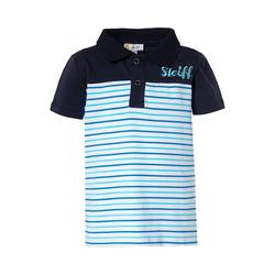 Steiff Poloshirt Poloshirt für Jungen weiß 92